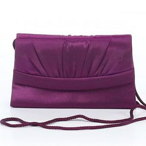 NEW AUTH BILL BLASS Purple Crossbody Bag